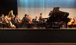 Piano Concerto in G by Maurice Ravel - Orquesta Sinfonica de El Salvador. German Caceres, conductor - Auditorio ILC-FEPADE, San Salvador - 19 & 20 February 2014